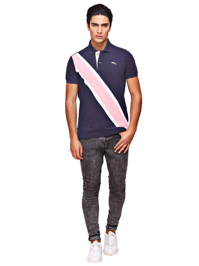 JUMP USA Bermuda Men's V-Neck Short Sleeve Regular Fit Polo Shirt - JUMP USA - Breeches.com