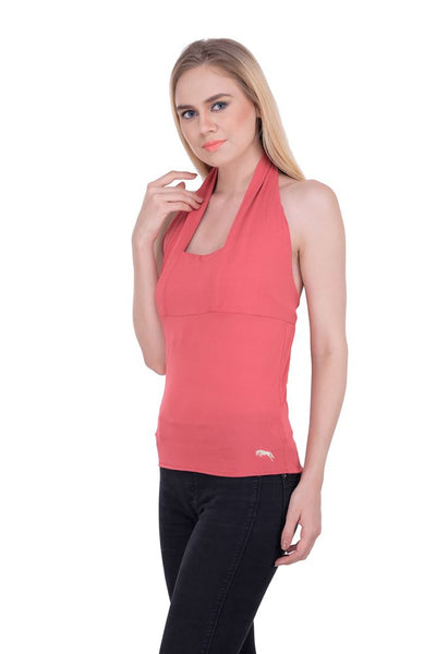 JumpUSA Ava Ladies Sleeveless Regular Fit Halter Top - JUMP USA - Breeches.com