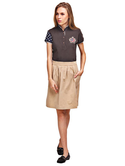 JUMP USA Alyster Ladies Short Sleeve Regular Fit Polo Shirt - JUMP USA - Breeches.com