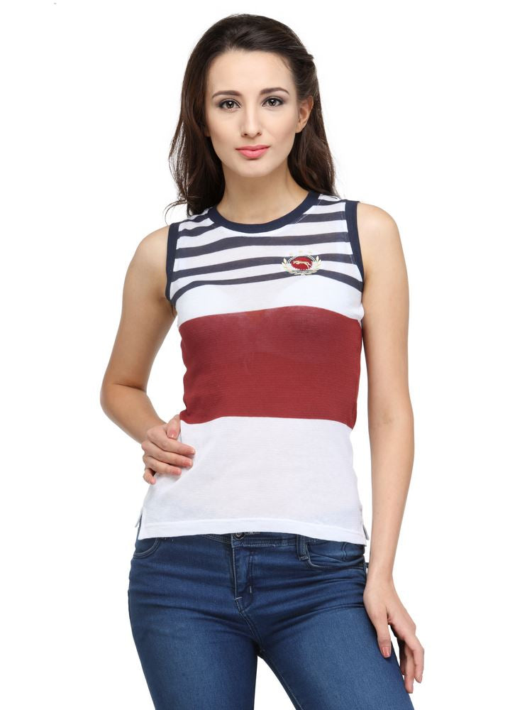 JUMP USA Candy Top Ladies Sleeveless Relaxed Fit T-Shirt - JUMP USA - Breeches.com