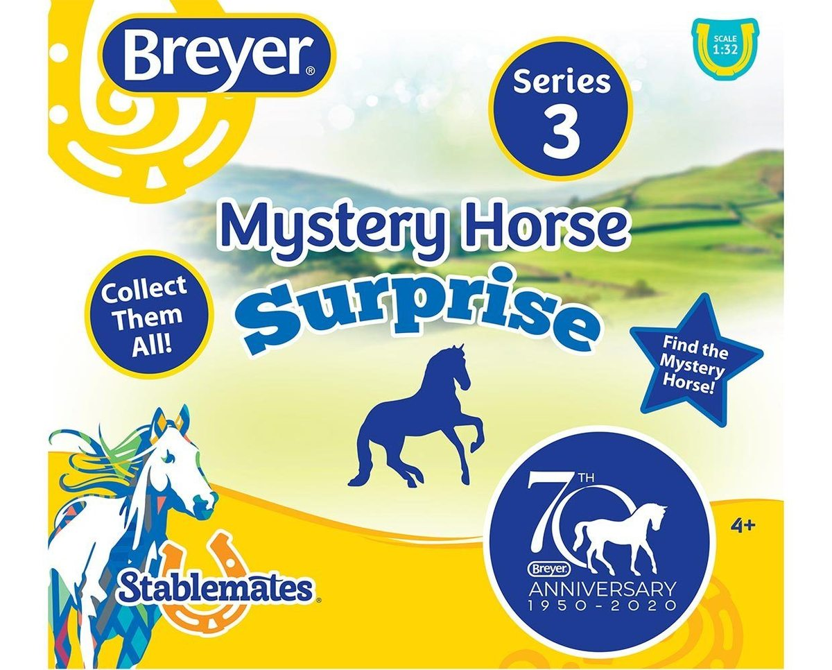 Breyer 70th Anniversary Mystery Horse Surprise - 24 Piece Display - Breeches.com