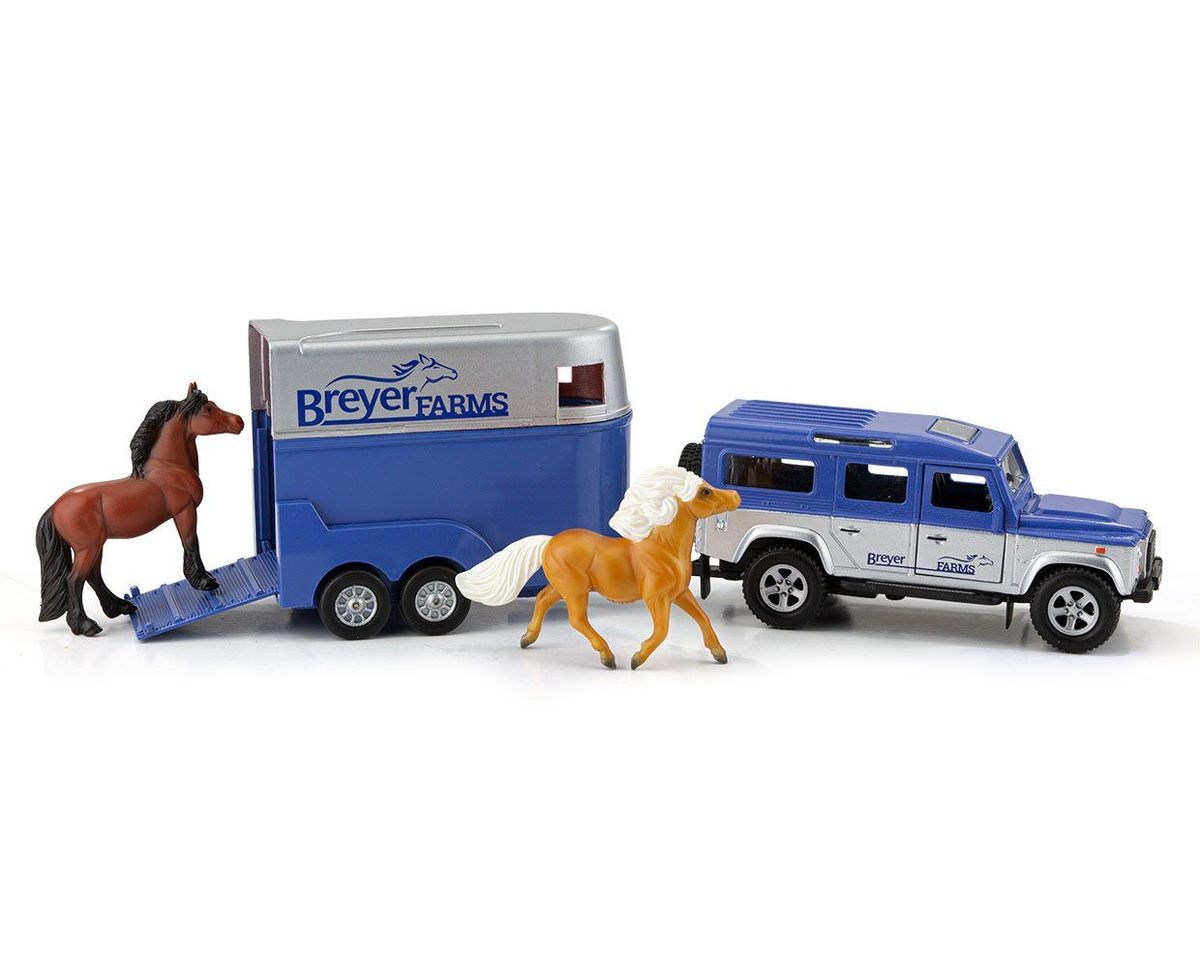 Breyer Farms™ Land Rover® and Tag-A-Long Trailer - Breeches.com