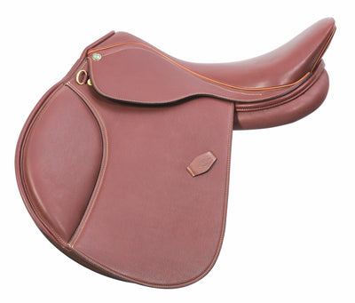 Pro Covered A/O Saddle - Henri de Rivel - Breeches.com