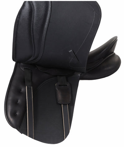 Dortmund Dressage Saddle - Flocked - Henri de Rivel - Breeches.com