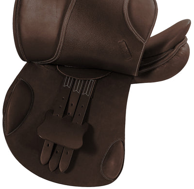 Henri de Rivel Carmel Covered Close Contact Jumping Saddle - Henri de Rivel - Breeches.com