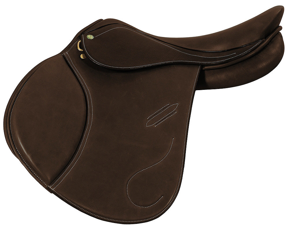 Covered Pro Revelation Jumping Saddle - Henri de Rivel - Breeches.com