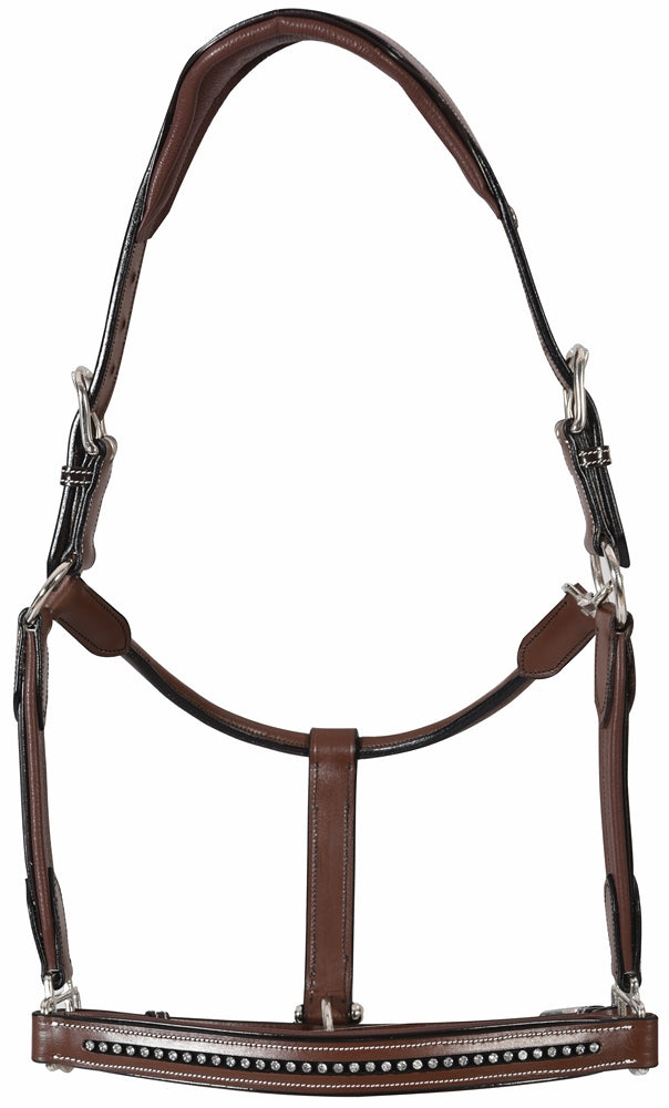 Henri de Rivel Padded Crystal Halter - Henri de Rivel - Breeches.com