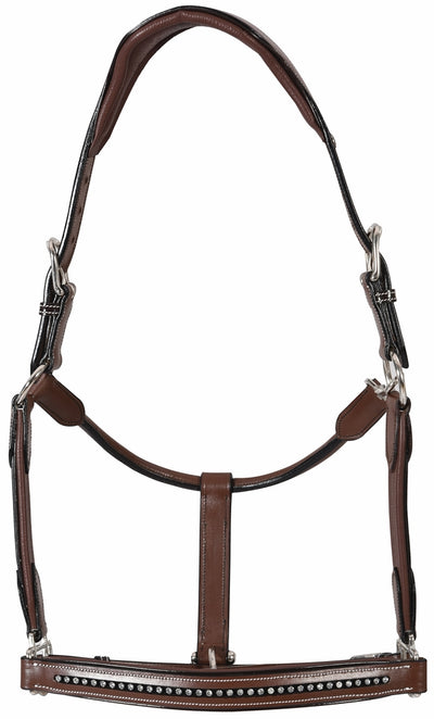 Henri de Rivel Padded Crystal Halter