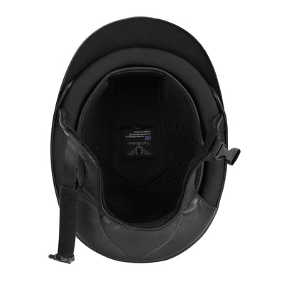 TuffRider Show Time Helmet|Protective Head Gear for Equestrian Riders - SEI Certified, Tough and Durable - Black""
