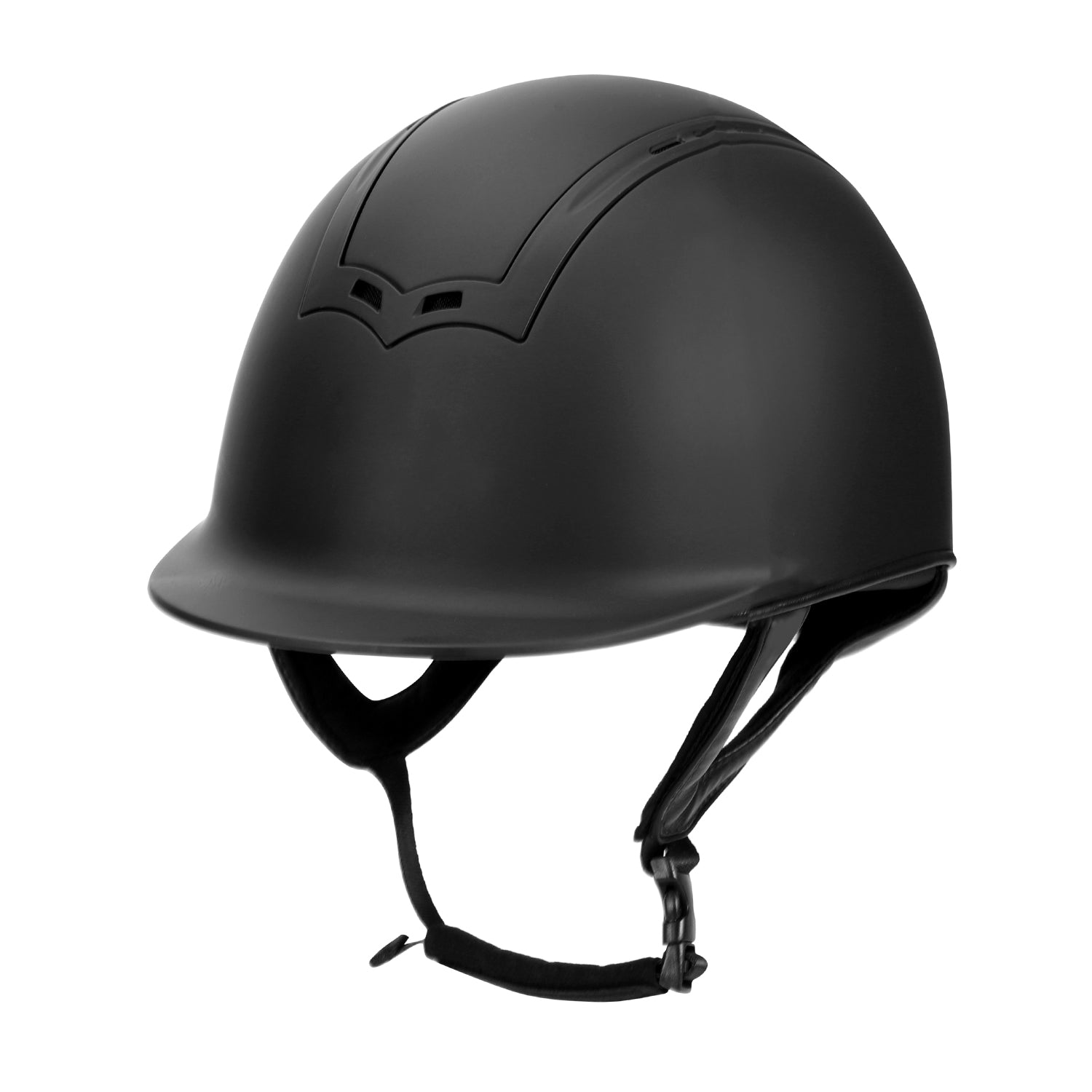 "TuffRider Show Time Helmet|Protective Head Gear for Equestrian Riders - SEI Certified, Tough and Durable - Black"" - TuffRider - Breeches.com"