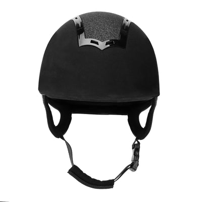 TuffRider Show Time Plus Helmet |Protective Head Gear for Equestrian Riders - SEI Certified, Tough and Durable - Black - TuffRider - Breeches.com