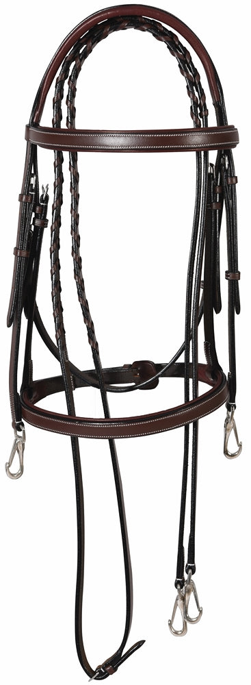 Henri de Rivel Training Bridle - Henri de Rivel - Breeches.com
