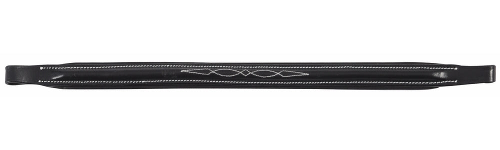 Henri de Rivel Pro Raised Fancy Stitched Replacement Browband for Traditional Style Bridles - Breeches.com