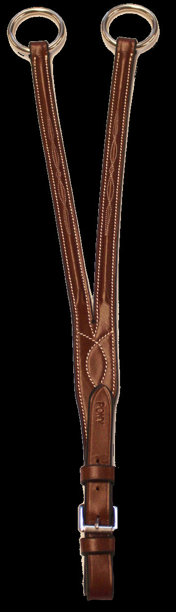 Henri de Rivel Pro Raised Fancy Stitched Running Martingale Attachment