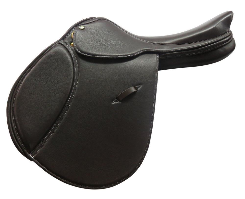Belmont Cut Back Close Contact Saddle - Henri de Rivel - Breeches.com