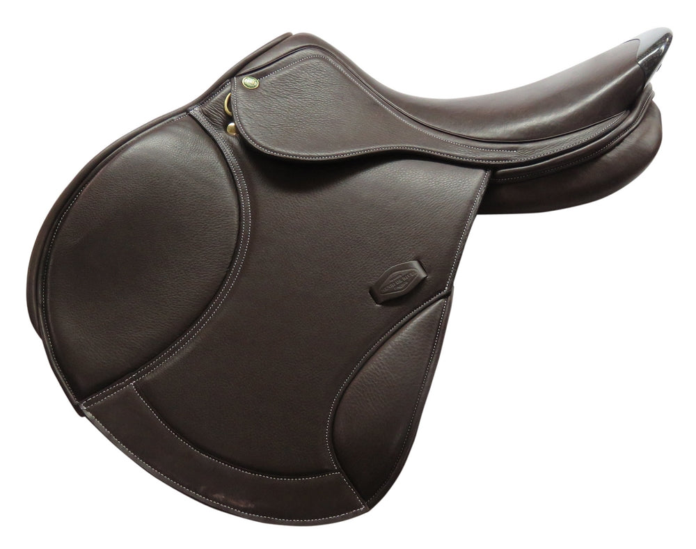 Millennium Covered Close Contact Saddle - Henri de Rivel - Breeches.com
