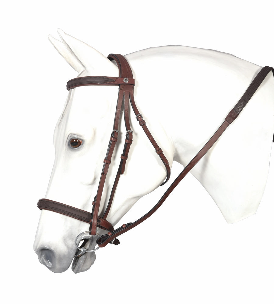 Henri de Rivel Pro Double Clear Bridle - Henri de Rivel - Breeches.com