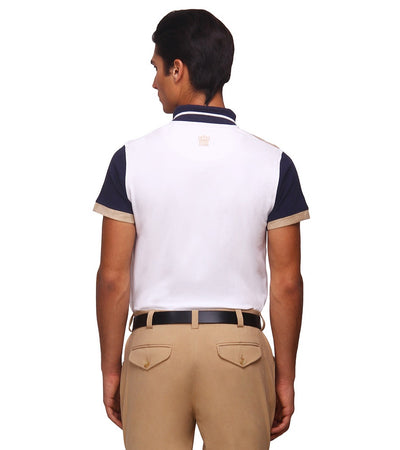 George H Morris Men's Reserve Short Sleeve Polo Sport Shirt - Breeches.com