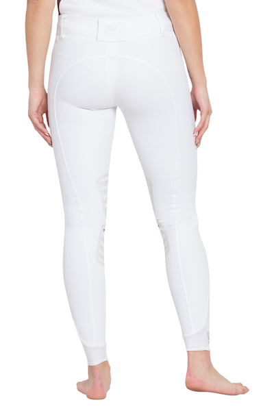 George H Morris Ladies Add Back Silicone Knee Patch Breeches_4