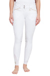 George H Morris Ladies Add Back Silicone Knee Patch Breeches_2