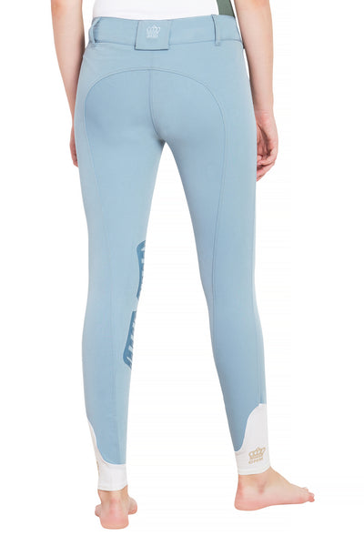 George H Morris Ladies Add Back Silicone Knee Patch Breeches_24