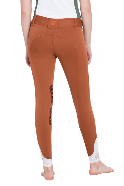 George H Morris Ladies Add Back Silicone Knee Patch Breeches_28