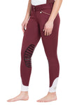 George H Morris Ladies Add Back Silicone Knee Patch Breeches_31