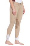 Ladies Add Back Silicone Knee Patch Breeches - George H Morris - Breeches.com