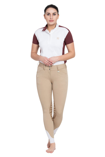 George H Morris Ladies Add Back Silicone Knee Patch Breeches_39