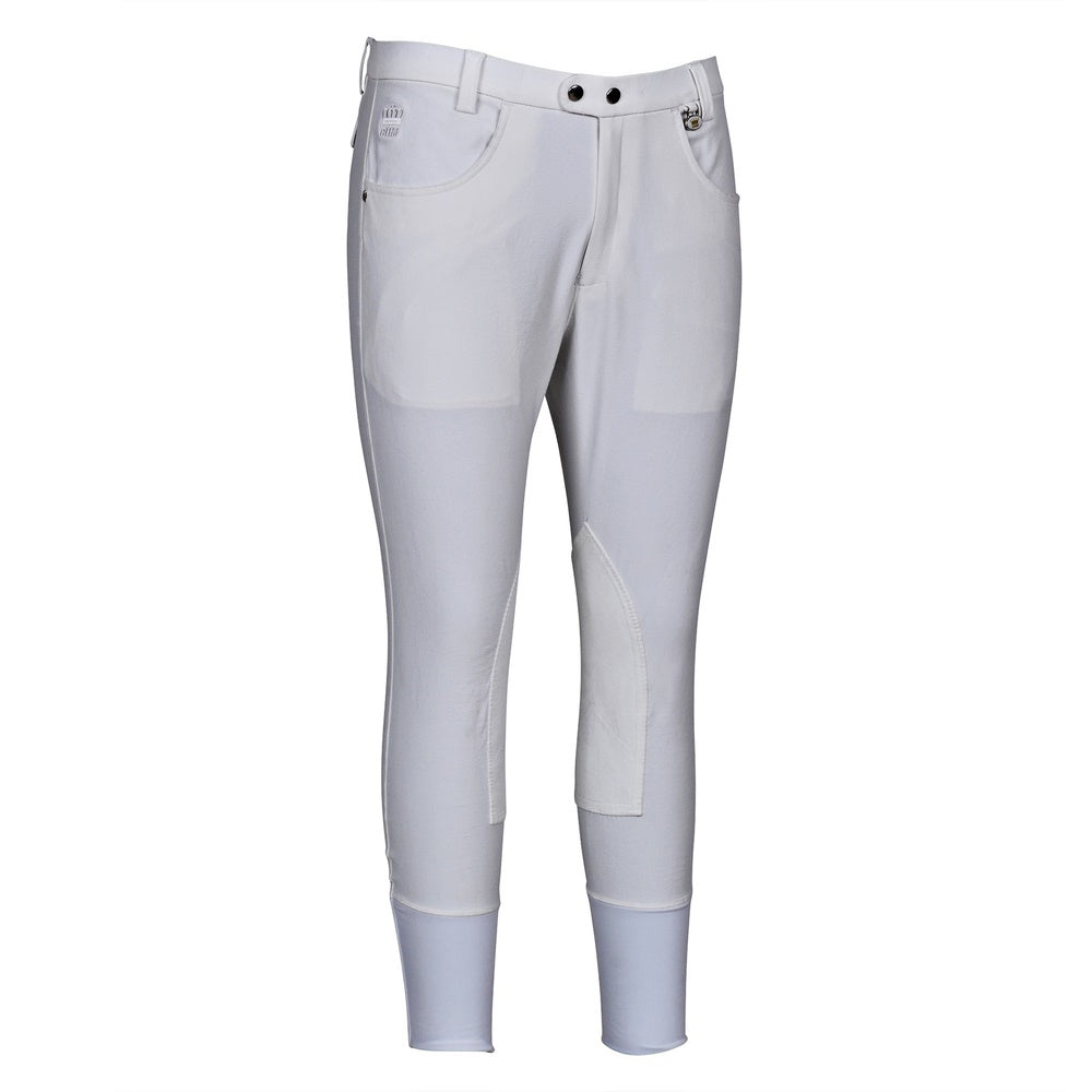 Men's Grand Prix Knee Patch Breeches - George H Morris - Breeches.com