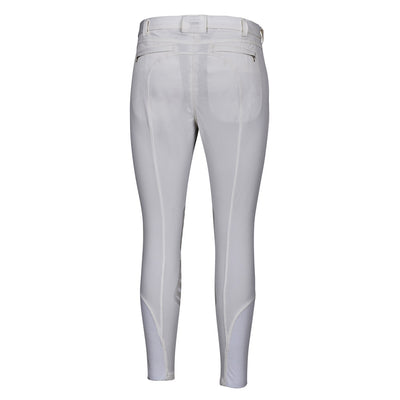 Men's Rider Silicone Knee Patch Breeches - George H Morris - Breeches.com