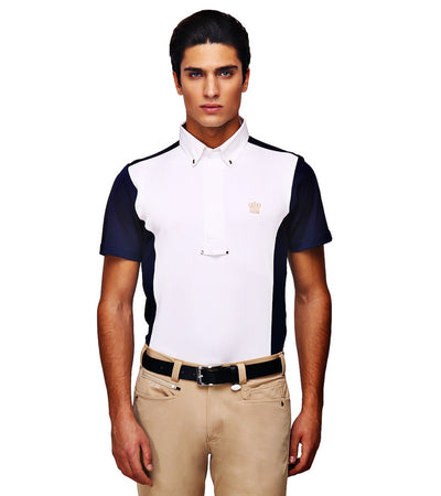 George H Morris Men's Champion Short Sleeve Show Shirt - George H Morris - Breeches.com