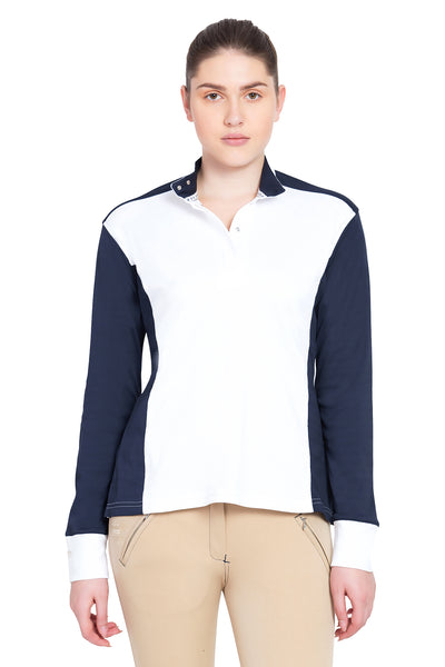 George H Morris Ladies Champion Long Sleeve Show Shirt - Breeches.com