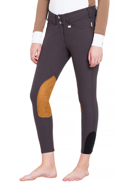 Ladies Show Time Knee Patch Breeches - George H Morris - Breeches.com