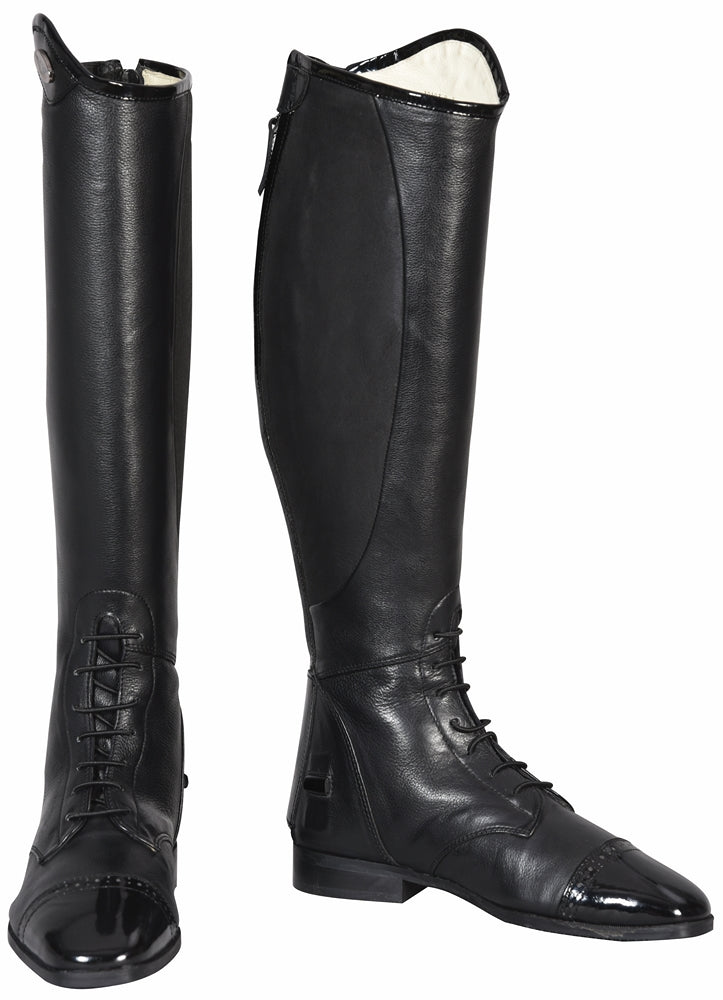 TuffRider Ladies Regal Patent Leather Field Boots - TuffRider - Breeches.com