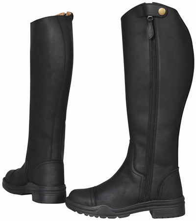 Ladies Arctic Fleece Lined Winter Riding Boots - TuffRider - Breeches.com