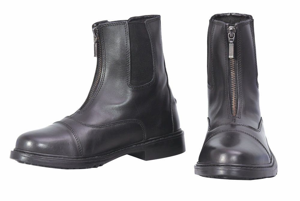 Ladies Perfect Front Zip Paddock Boots - TuffRider - Breeches.com