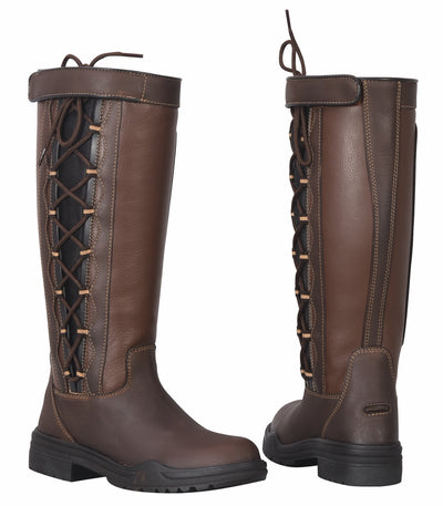 TuffRider Ladies Ajuste Waterproof Leather Country Boots - Breeches.com