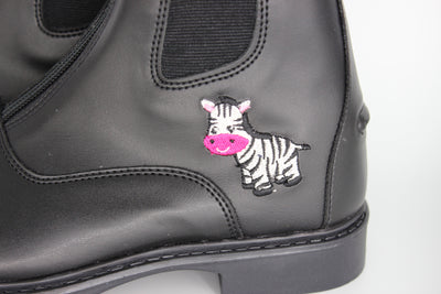TuffRider Starter Zebra Paddock Boots for Children - Breeches.com