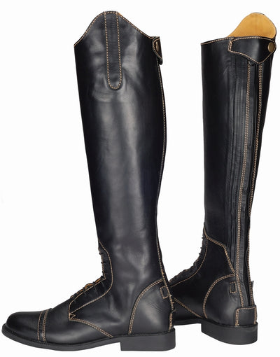 Ladies Natasha Leather Field Boots - TuffRider - Breeches.com