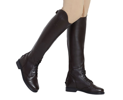 TuffRider Ladies Starter Back Zip Field Boots in Synthetic Leather - TuffRider - Breeches.com