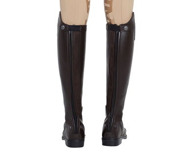 TuffRider Ladies Starter Back Zip Field Boots in Synthetic Leather - Breeches.com