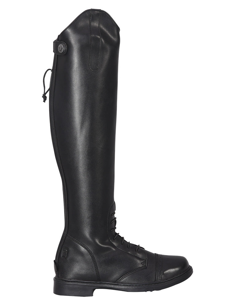 Ladies Starter Back Zip Field Boots in Synthetic Leather - TuffRider - Breeches.com