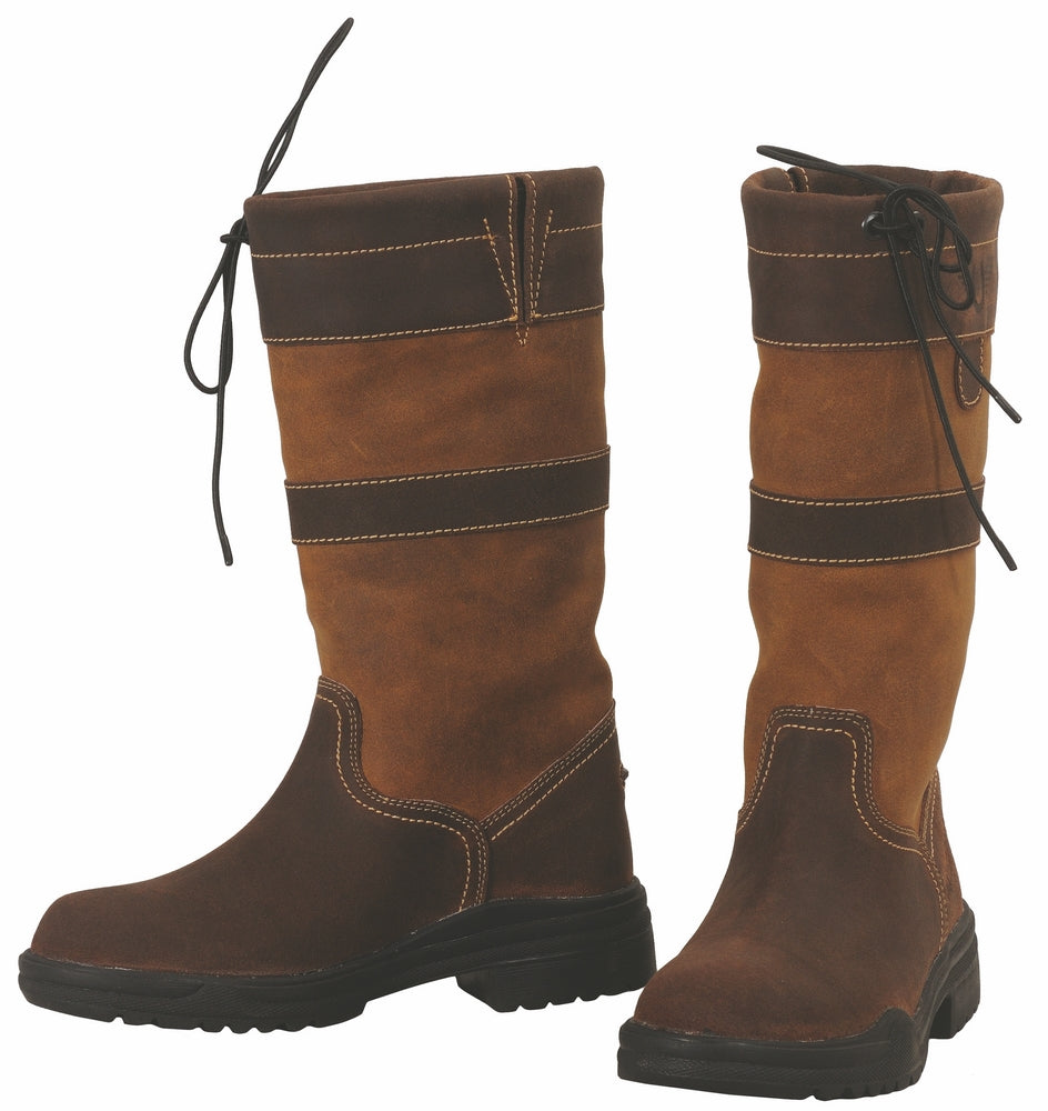 TuffRider Ladies Low Country Waterproof Short Country Boots - Breeches.com