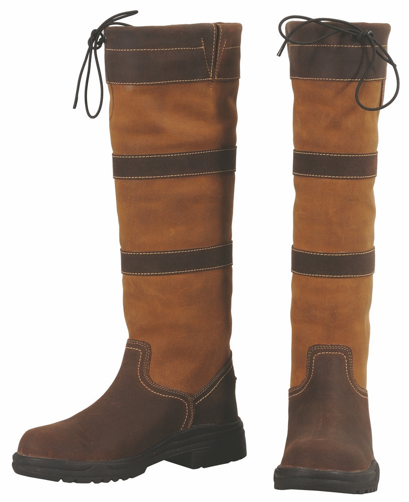 Children's Lexington Waterproof Tall Country Boots - TuffRider - Breeches.com