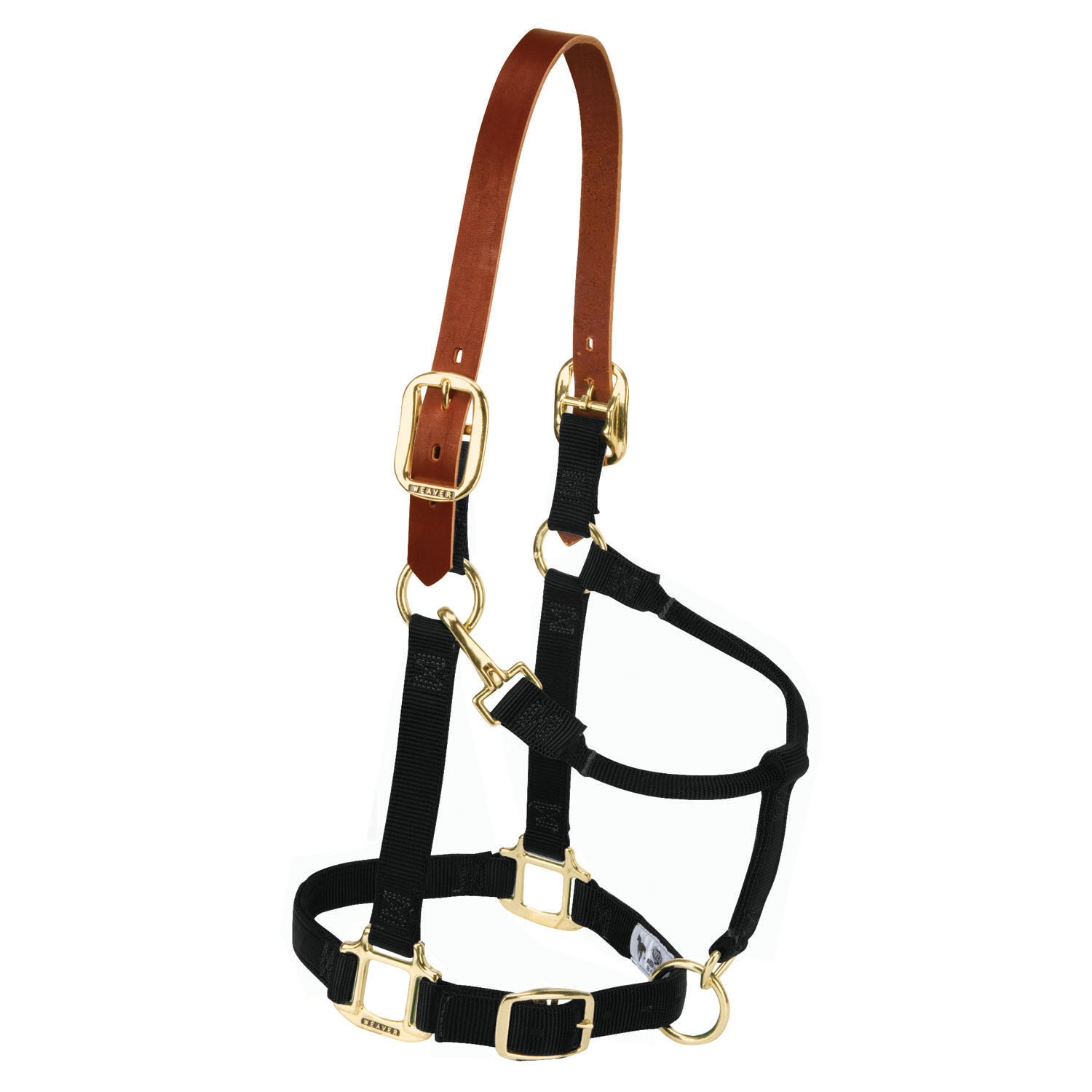 Breakaway Original Adjustable Chin and Throat Snap Halter - Weaver Leather - Breeches.com