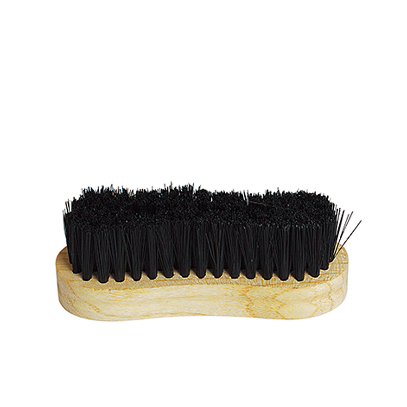 Tuffrider Stiff Face Brush With Wooden Grip - Breeches.com