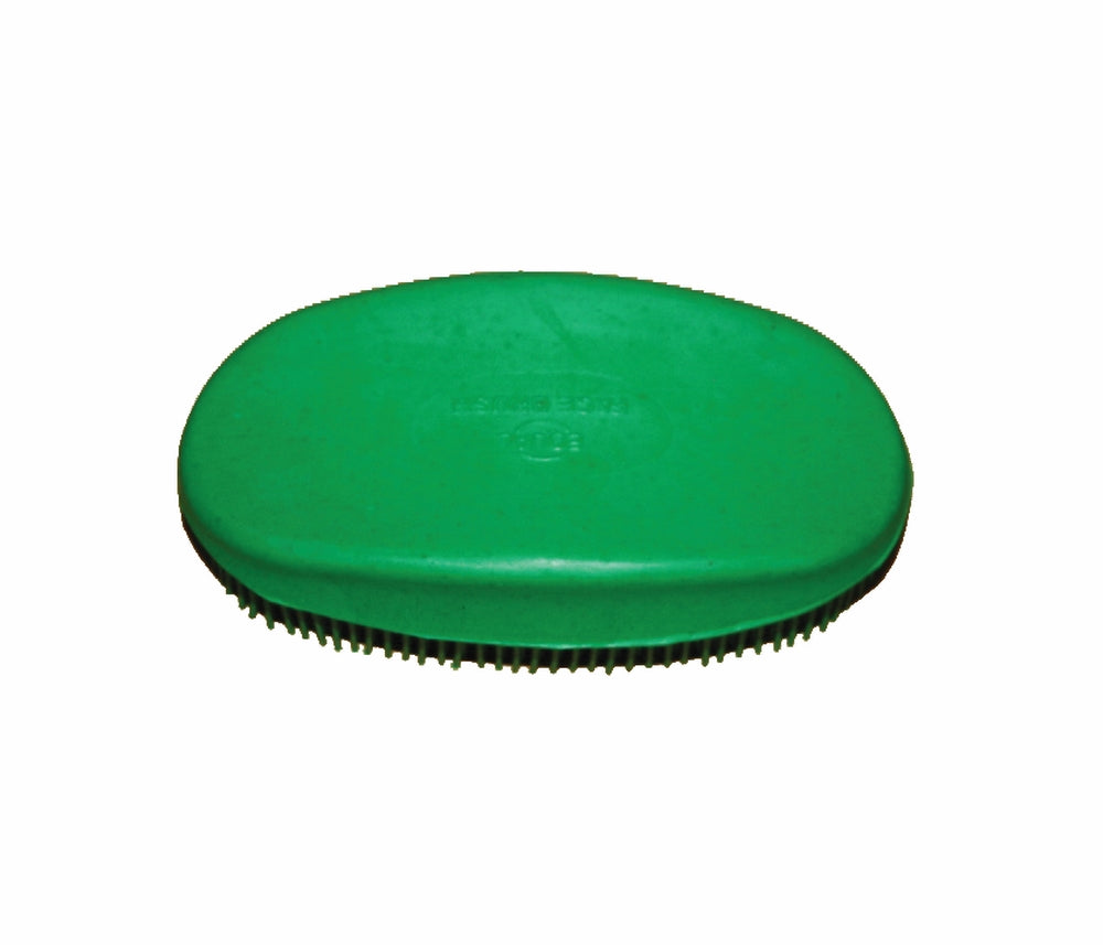 TuffRider Oval Face Brush | Horse Riding Equestrian Horse Care,Grooming Brush | Color - Green_1