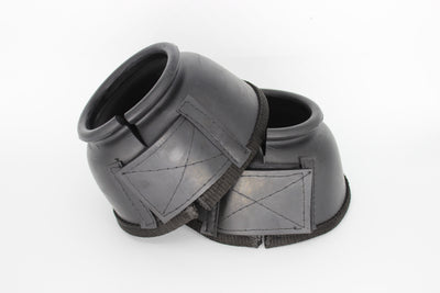 TuffRider Round Top Plain Bell Boots PVC Foam Hook and Loop w/ Bottom Tape - TuffRider - Breeches.com