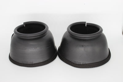 Round Top Plain Bell Boots PVC Foam Hook and Loop w/ Bottom Tape - TuffRider - Breeches.com